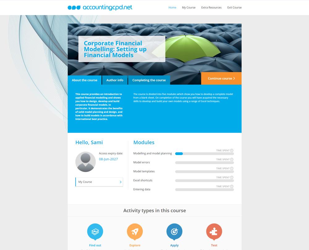 www accountingcpd net - Corporate Financial Modelling