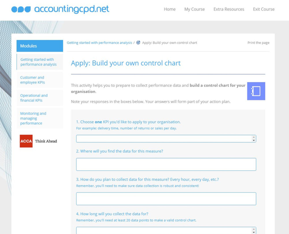 www accountingcpd net - KPIs for SMEs