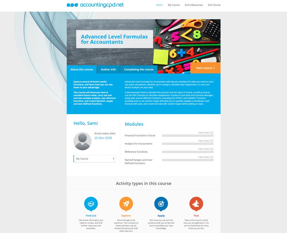 www accountingcpd net - Advanced Level Formulas for Accountants