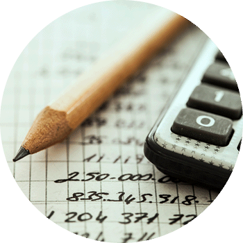 pencil calculator and sums